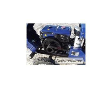 Мототрактор Булат-120 зі стартером, фрезою, плугом