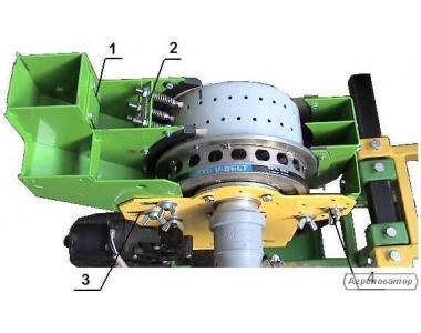 Высевающий агрегат сеялки вакуумной СВТВ 4-8