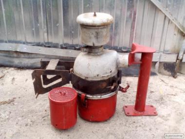 Воздухоочиститель в сборе Д37Е-1109012А4-12 Фильтр воздушный Д-21 T-25