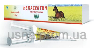 Немасектин паста для лошадей (1 шприц х 14 г)