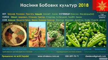 Насіння ОЗИМИХ КУЛЬТУР для сезону 2017-2018