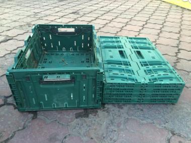 Ящик пластиковый разборной перфорированный 600х400х230- Ортус