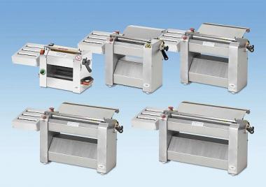 Тісторозкатувальні машини для піци, чебуреків, лавашу, коржів. Тісторозкатки електричні і ручні