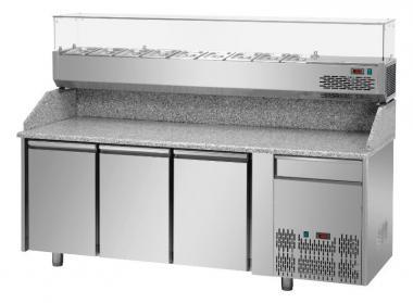 Холодильный стол для пиццы 2 двери Tecnodom PZ 02 EKO GN