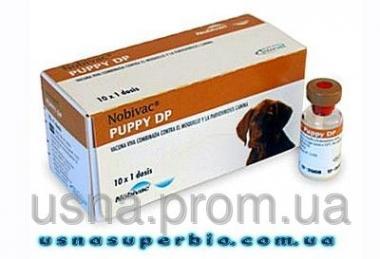 Нобивак Паппи DP, 1 фл. (1 доза) + растворитель 1 фл.