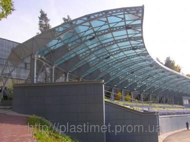 Полікарбонат монолітний Monogal прозорий 6мм