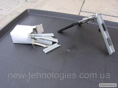 Скобообжимной инструментКлипсатор ручной. Обжимные клещи для сетки кри