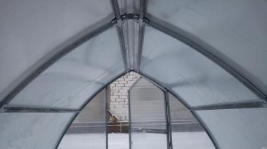 Теплиця Зручна 4*8*2.5 м з полікарбонатом 4 мм.