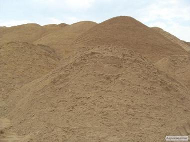 Пісок річковий намивний