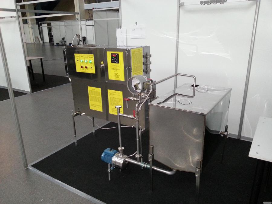 Пастеризатор молока инфракрасный 200 л/ч УЗМ-0,2