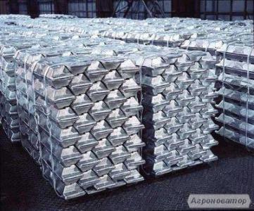 Продам чушки алюминиевые на  экспорт марок: А999, А8, А6, А0, А7 и др.