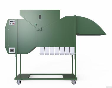 Аеродинамічний безрешітний сепаратор зерна ІСМ-10