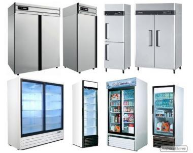 Холодильні шафи, морозильні та універсальні. РОЗСТРОЧКА!