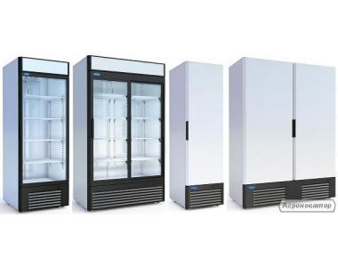 Холодильные шкафы, морозильные и универсальные. РАССРОЧКА!
