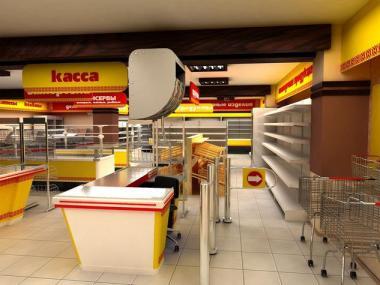 Комплексное оснащение торговли и продуктовых магазинов. Проект БЕСПЛАТНО!