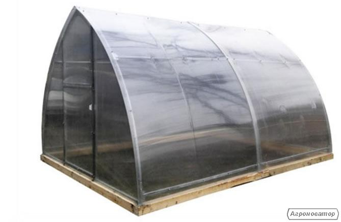 Теплица Веселка 3х8х2м с поликарбонатом 4 мм