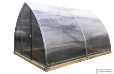 Теплица Сарай 3*4*2.3 м с поликарбонатом Greenhouse 4 мм.
