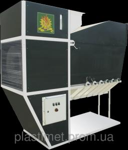 Аеродинамічний зерновий сепаратор