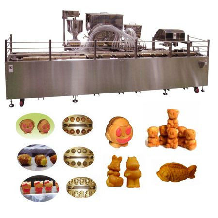 Автоматическая линия формования и выпечки кондитерских бисквитных изделий с начинкой типа мишки Барни TAWC-20