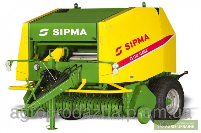 Рулонний прес SIPMA PS 1210 CLASSIC