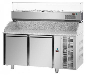 Стол пиццерийный DGD PZ02MID80 + VR4160SV (БН)