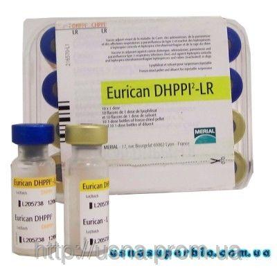 Эурикан (Eurican) DHPPI 2 - LR, Меріал, Франція - вакцина для собак