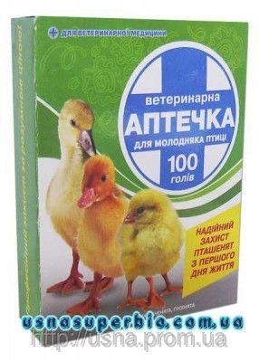 Ветеринарна аптечка для птахів (на 50 голів)
