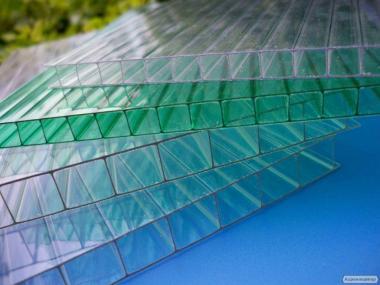 Полікарбонат стільниковий GREENHOUSE 4 мм 6000x2100 мм прозорий