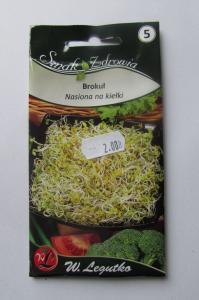 Насіння капусти броколі