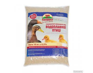 """Комбикорм для водоплавающей птицы ТМ """"Калинка"""" (6602) (21-49 дн)"""