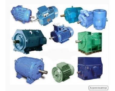 Електродвигуни А4,АК,ВАЛТ,ДАЗО2,4АЗМ,2АЗМВ,ВАО,АМУ,АМН,А5,В,ВА,АИММ