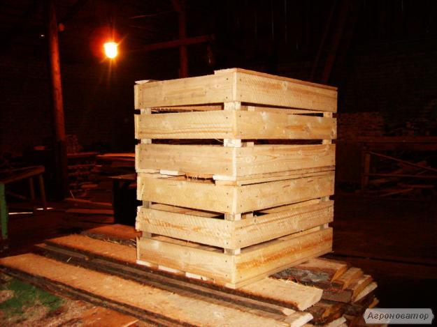 ящики, тара дерев'яна