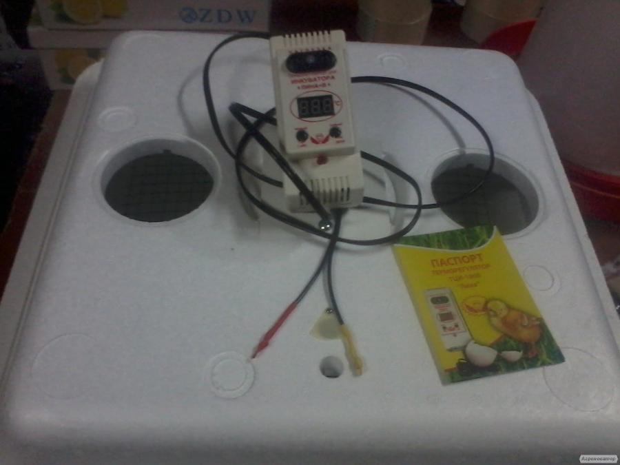 """Інкубатор з терморегулятором ТЦИ """"Ліна + """" з датчиком вологості ."""