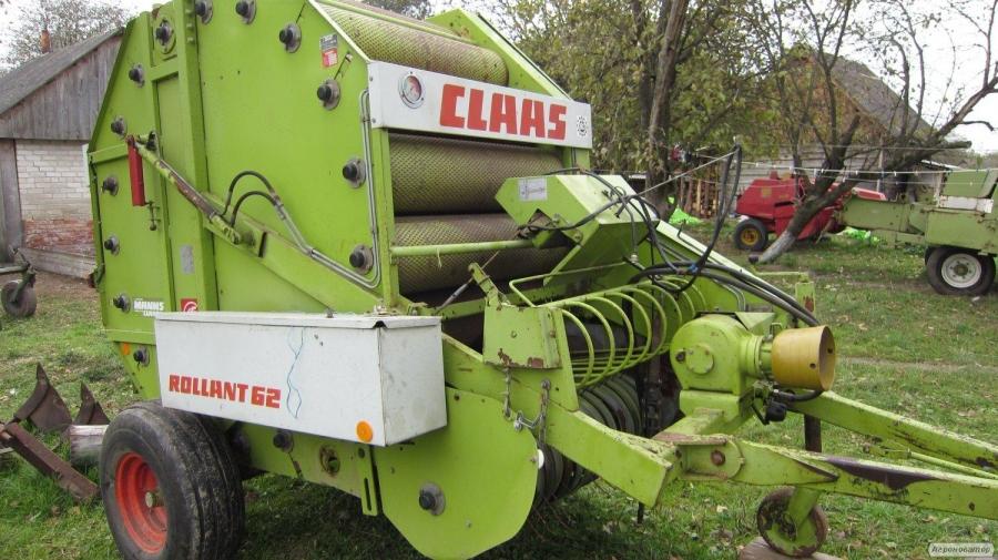 Рулонный пресс-подборщик Claas Rollant 62 / 44 / 66 / рулонник