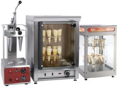 Обладнання для коно-піци: прес-піч для приготування, вітрини теплові і конвекційні печі. Розстрочка!