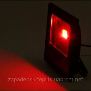 Светодиодный прожектор LED 30Вт 620-630nm (красный), IP66