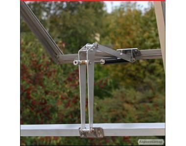Автоматические открыватели окон в теплицах Thermovet и Univent(Denmark