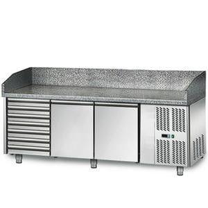 Стол для пиццы GGM POS208S (холодильный)