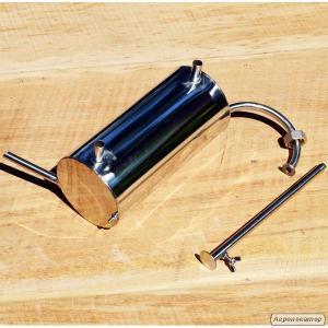 Дистилятор (холодильник-змійовик) до ємності. Нержавіюча сталь