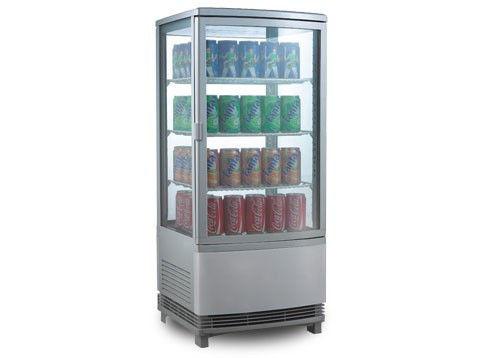 Витрина панорамная GGM PVK82U (холодильная)