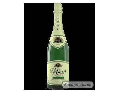 Шампанське Maurt Мускат напівсолодке молдавське