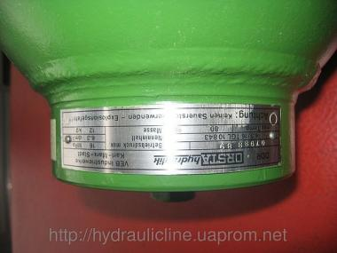 Гідроакумулятори ORSTA, гідравлічні акумулятори