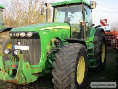 Трактор John Deere 8520 ILS   2005 г/в, 11396 м/ч, мощность-334л.с.