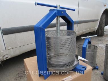Ручний прес для соку 5 л (нержавійка)