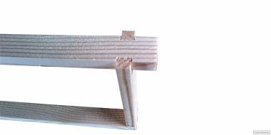 Рамки для вуликів Полурамки (435х145)