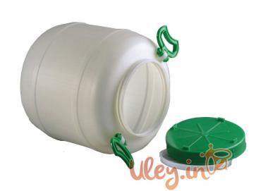 Бідон харчовий пластмасовий, 50 л. Горловина 220 мм. (сертифіковані)