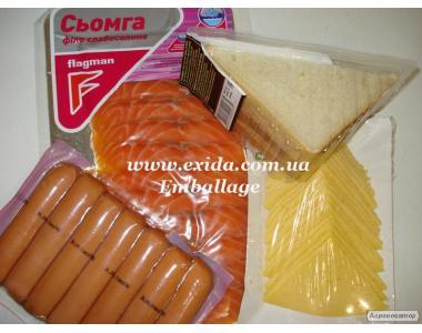 Пакети для вакуумного пакування продуктів
