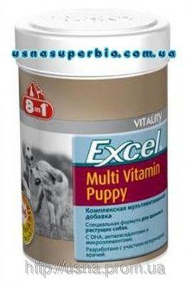 8 в 1 Вітаміни для цуценят Excel Multi Vit-Puppy (100шт./185 мл)