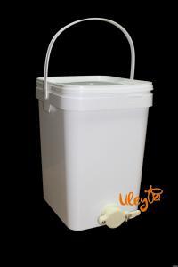 Бак Куботейнер для фасвоки меду 20 л ( відстійник для меду) — Туреччина
