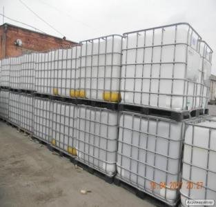 Пластикова ємність харчова на 1000л (куб) Довжина: 1200 мм Ширина: 100